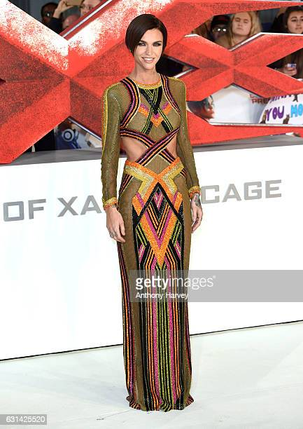 Ruby Rose attends the European premiere of xXx Return of Xander Cage' on January 10 2017 in London United Kingdom
