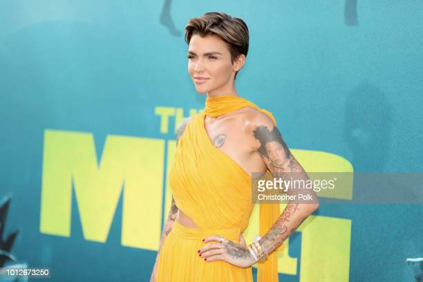 Ruby Rose attends Warner Bros Pictures And Gravity Pictures' Premiere of 'The Meg' at TCL Chinese Theatre IMAX on August 6 2018 in Hollywood...