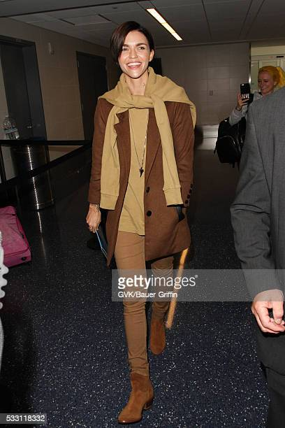 Ruby Rose is seen at LAX on May 20 2016 in Los Angeles California