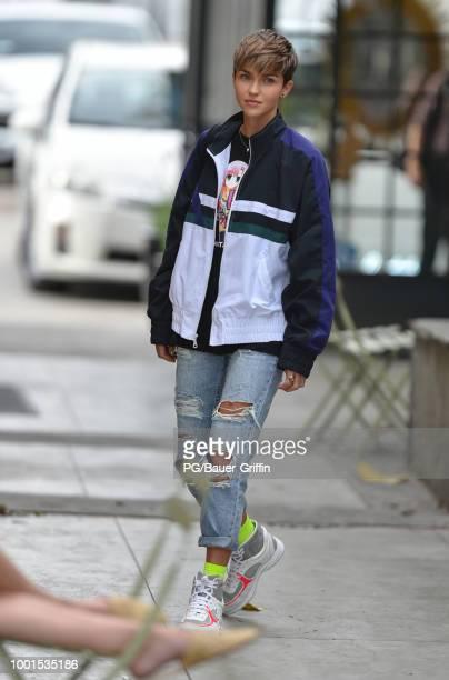 Ruby Rose is seen on July 18 2018 in Los Angeles California