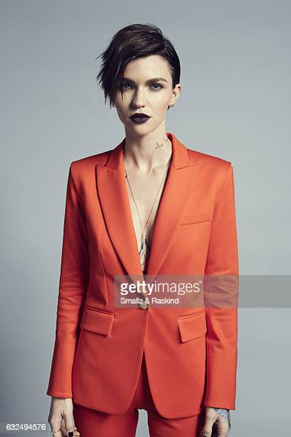 Ruby Rose poses for a portrait at the 2017 People's Choice Awards at the Microsoft Theater on January 18 2017 in Los Angeles California