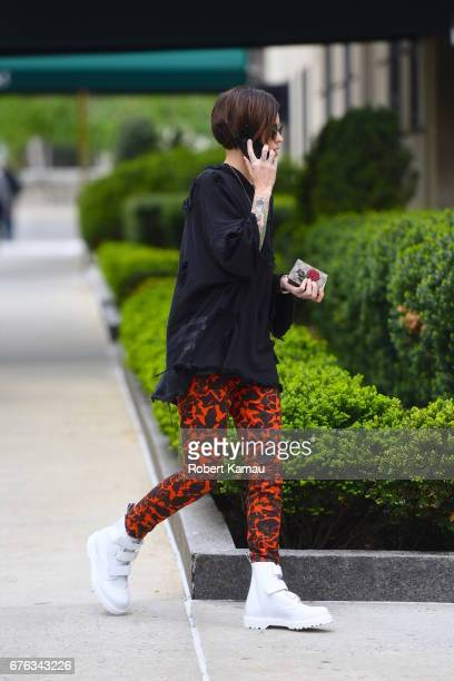 Ruby Rose seen out in Manhattan before attending the MET Gala on May 1 2017 in New York City