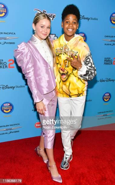 Ruby Rose Turner and JD McCrary attend the 2019 Radio Disney Music Awards at CBS Studios Radford on June 16 2019 in Studio City California