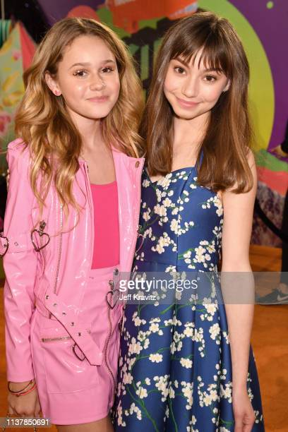 Ruby Rose Turner and Lauren Lindsey Donzis attend Nickelodeon's 2019 Kids' Choice Awards at Galen Center on March 23 2019 in Los Angeles California