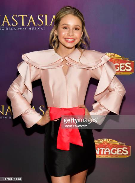 Ruby Rose Turner attends the Open Night Performance of Anastasia Hollywood Pantages Theatre at the Pantages Theatre on October 08 2019 in Hollywood...