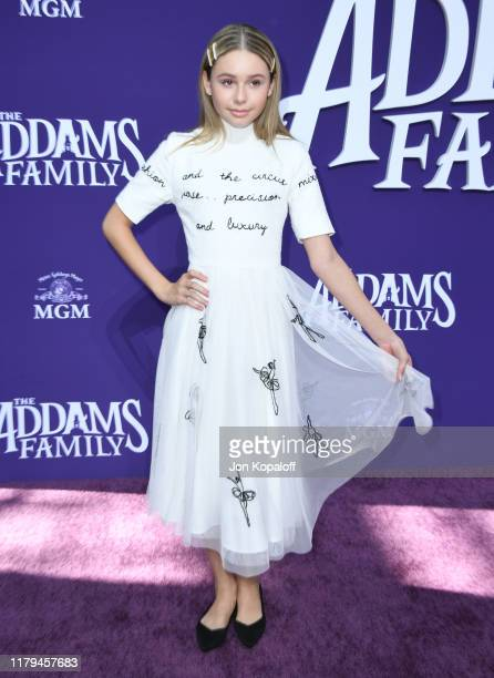 Ruby Rose Turner attends the premiere of MGM's The Addams Family at Westfield Century City AMC on October 06 2019 in Los Angeles California