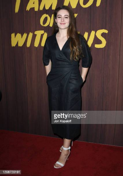 Ruby Serkis attends Netflix's I Am Not Okay With This Photocall at The London West Hollywood on February 25 2020 in West Hollywood California
