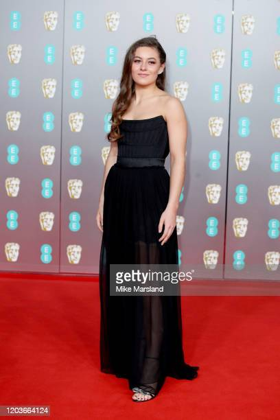 Ruby Serkis attends the EE British Academy Film Awards 2020 at Royal Albert Hall on February 02 2020 in London England