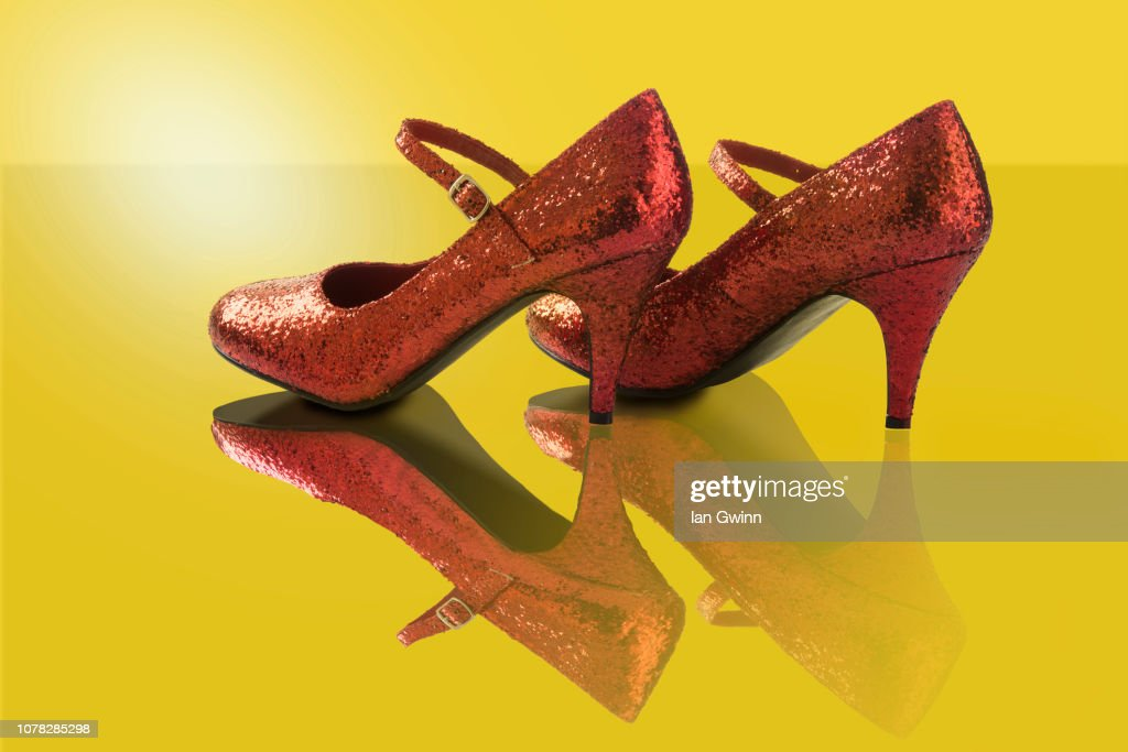 Ruby Shoes : Stock Photo