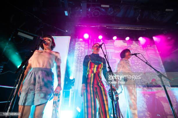 B Ruby Soul of Superorganism perform at The Academy on October 18 2018 in Dublin Ireland
