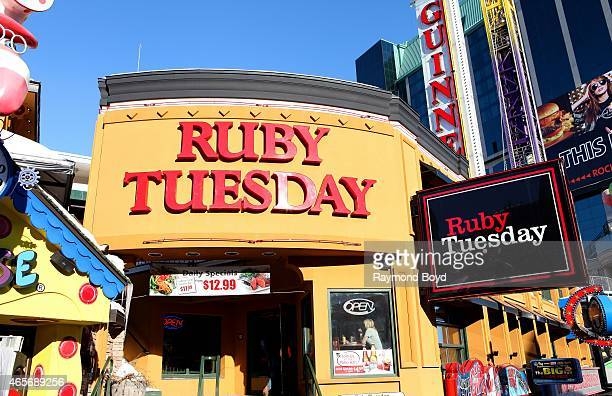 Ruby Tuesday Restaurant on February 28 2015 in Niagara Falls Ontario Canada