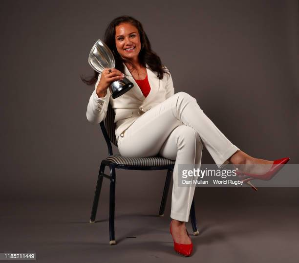 Ruby Tui of New Zealand, winner of the World Rugby Women's Sevens Player of the Year in association with HSBC poses for a portrait during the World...