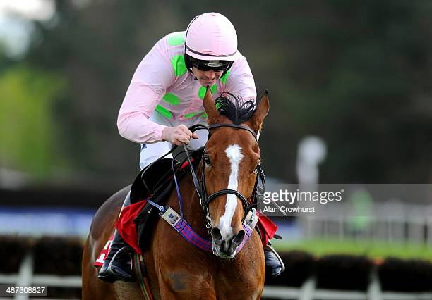 Ruby Walsh riding Faugheen clear the last to win The Herald Champion Novice Hurdle at Punchestown racecourse on April 29 2014 in Naas Ireland