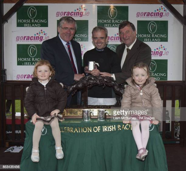 Ruby Walsh wins Horse Racing Ireland's Champion Jockey during day five of the Punchestown Festival at Punchestown Racecourse Co Kildare Ireland