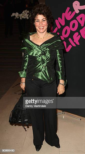 Ruby Wax attends the Liver Good Life event in aid of The Hepatitis C Trust at Christie's King Street on September 16 2009 in London England
