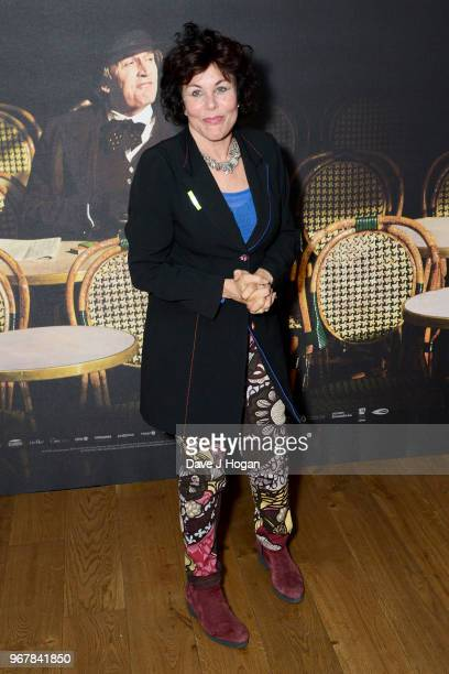 Ruby Wax attends the UK premiere of 'The Happy Prince' at Vue West End on June 5 2018 in London England
