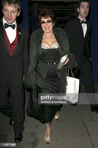 Ruby Wax during BAFTA Film Awards 2005 After Party at Grosvenor House Hotel in London United Kingdom