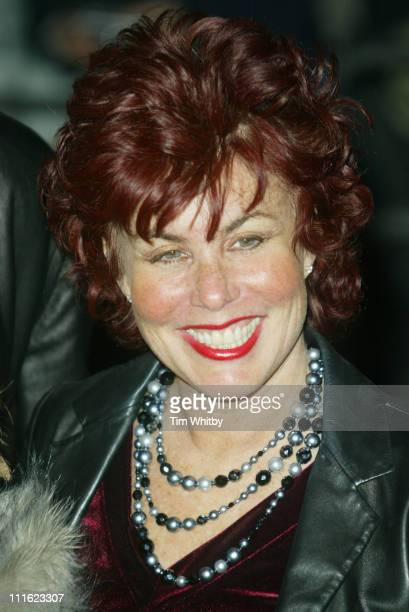 Ruby Wax during Cirque du Soleil's 20th Anniversary of Dralion Arrivals at The Royal Albert Hall in London Great Britain