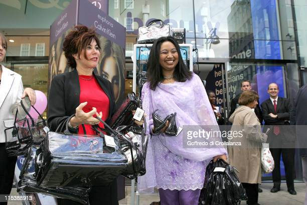 Ruby Wax during Dress to Impress Oxford Street Celebration October 1 2005 at Oxford Street in London Great Britain