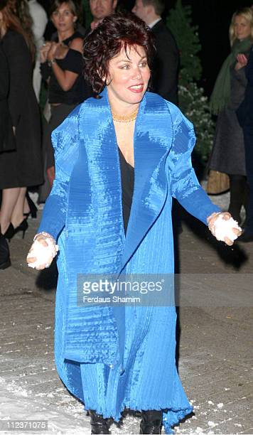 Ruby Wax during 'Love Actually' Premiere After Party Arrivals at In and Out Club Piccadilly in London United Kingdom