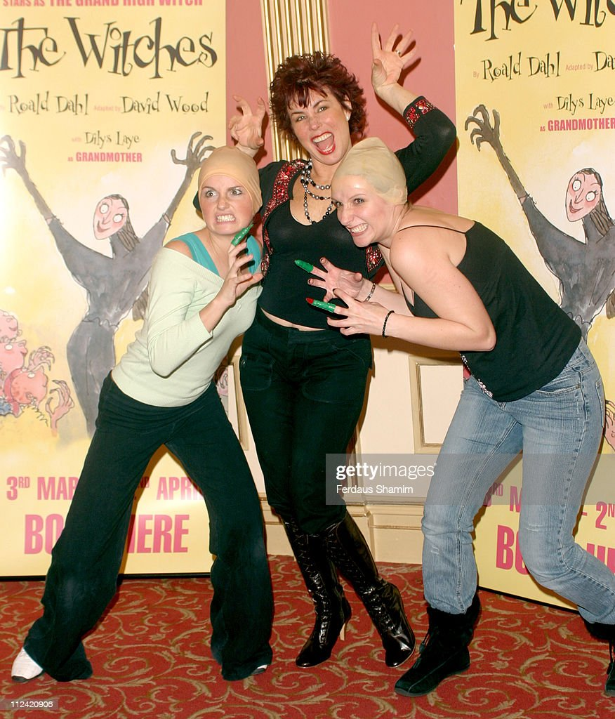 Ruby Wax during Ruby Wax Stars as The Grand High Witch in 'The Witches' by Roald Dahl at Duke Of York Theatre in London, Great Britain.