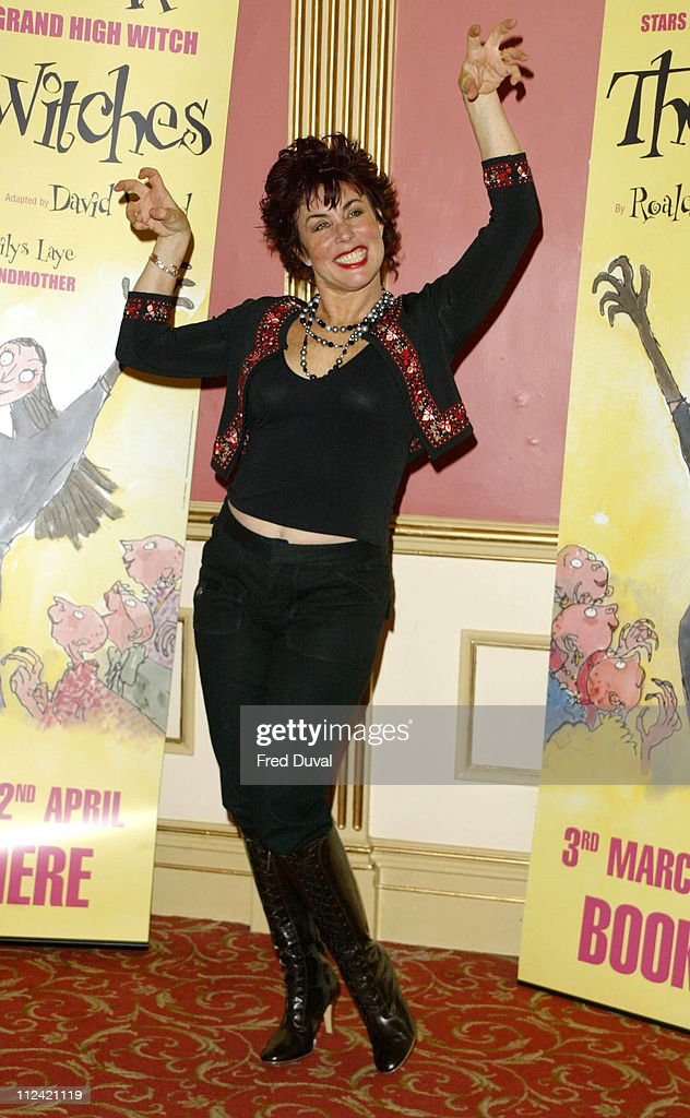 Ruby Wax during Ruby Wax Stars as The Grand High Witch in 'The Witches' by Roald Dahl at Wyndhams Theatre in London, United Kingdom.