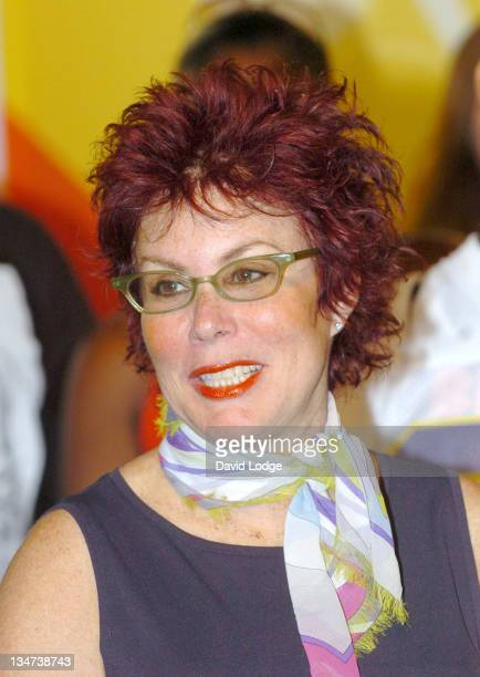 Ruby Wax during Toon Room Animation Suite Press Launch at YCTV Studios in London Great Britain