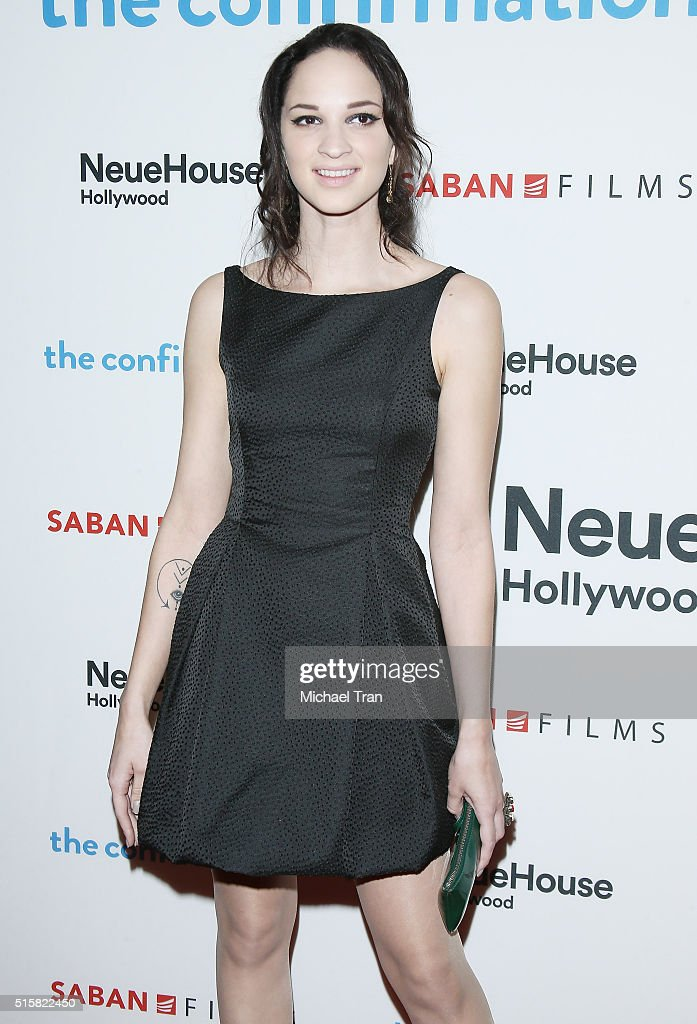 Ruby Wylder Rivera Modine arrives at the Los Angeles premiere of 'The Confirmation' held at NeueHouse Hollywood on March 15, 2016 in Los Angeles, California.