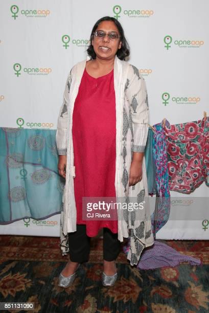 Ruchira Gupta attends the APNE Aap dinner on September 21 2017 in New York City