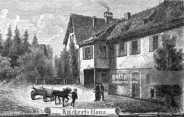 Ruckerthaus, Friedrich Ruckert, in Coburg, Upper Franconia, Bavaria, Germany.