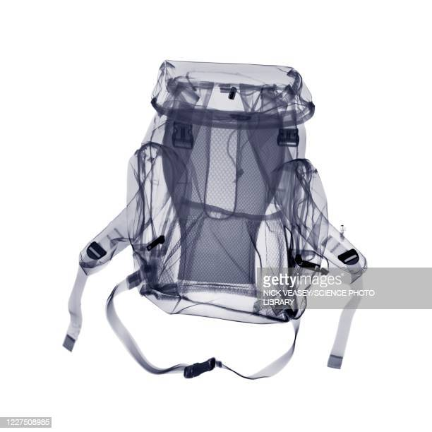 rucksack bag, x-ray - strap stock pictures, royalty-free photos & images