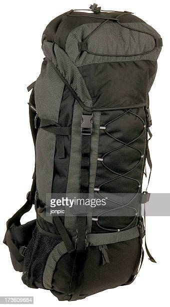 rucksack isolated with clipping path, travel luggage - strap stock pictures, royalty-free photos & images