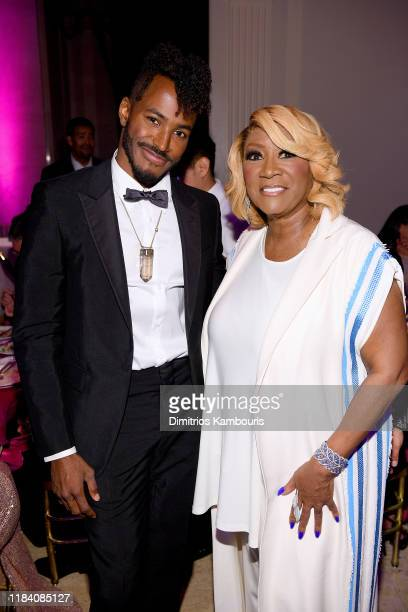 Ruckus and Patti Labelle attend the Angel Ball 2019 hosted by Gabrielle's Angel Foundation at Cipriani Wall Street on October 28 2019 in New York City