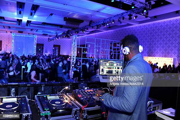 Ruckus attends the official 2014 American Music Awards after party at the at Nokia Theatre LA Live on November 23 2014 in Los Angeles California