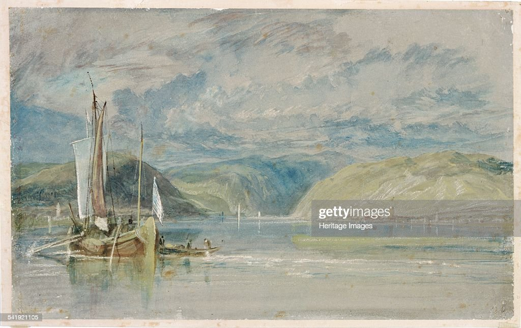 Rudesheim', 1817  Artist: Jmw Turner  News Photo - Getty Images