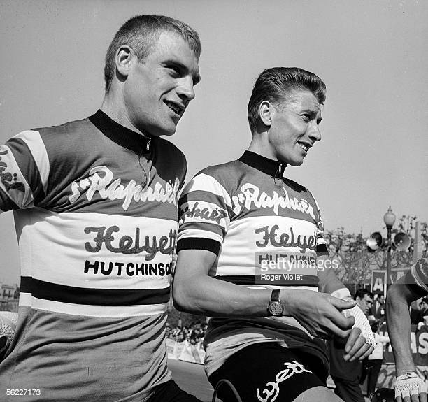Rudi Altig German racing cyclist and Jacques Anquetil French racing cyclist Tour de France 1962 RV404630
