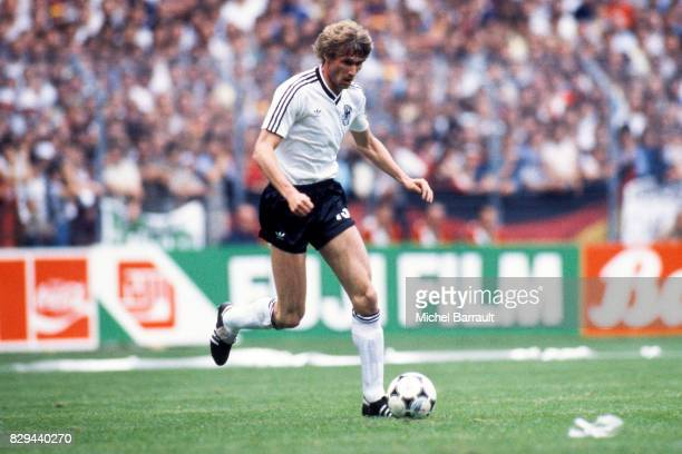 Rudi Bommer of West Germany during the European Championship match between West Germany and Portugal at Meinau Strasbourg Paris on 14th June 1984