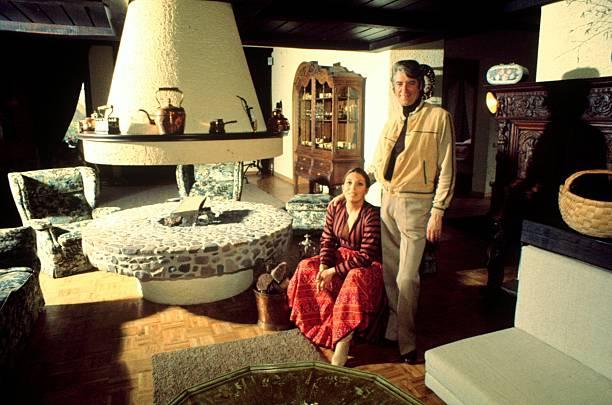 Rudi Carrell, Ehefrau Anke, Homestory,Wachendorf/ Syke/ Bremen ...