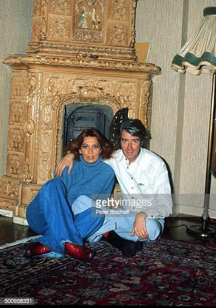 Rudi Carrell mit Ehefrau Anke, , Homestory, Wachendorf, Showmaster, Moderator, Entertainer, Promi, BB, Foto: P.Bischoff, , Sc