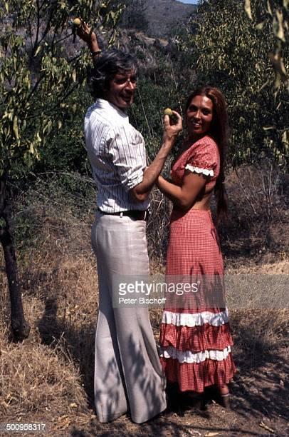 Rudi Carrell mit Ehefrau Anke Marbella/Spanien Urlaub Zitronen Showmaster Moderator Entertainer Promi BB Foto PBischoff Sc