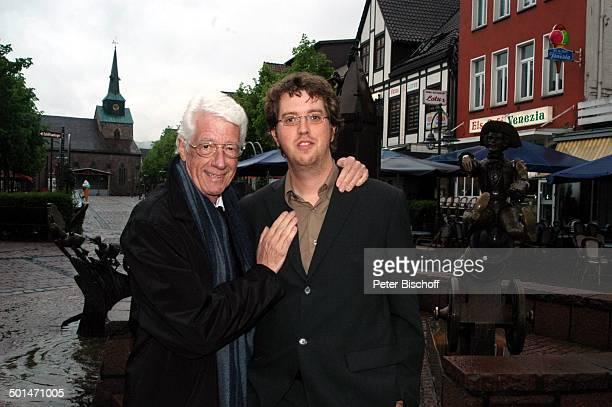 Rudi Carrell Sohn Alexander Kesselaar vor der 'Verleihung des MünchhausenPreises der Stadt Bodenwerder 2005' Bodenwerder Niedersachsen Deutschland...