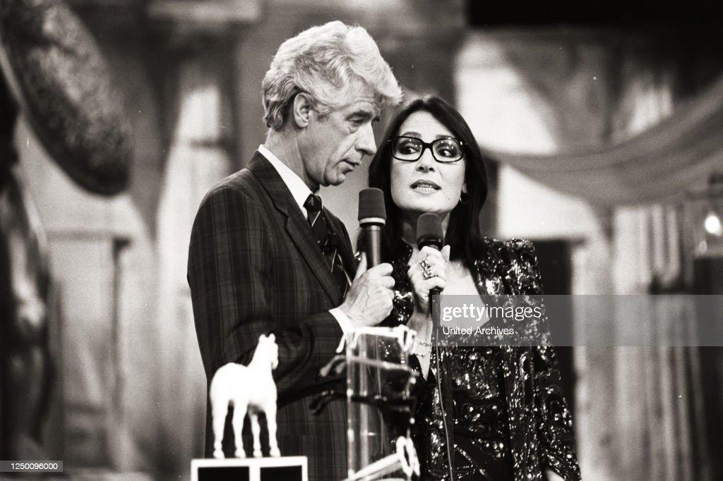 Rudi Carrell, TV-Show, 80er : Photo d'actualité