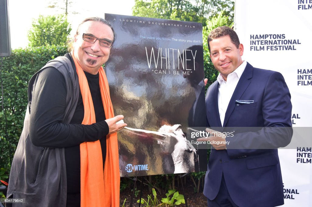Rudi Dolezal and Jordan Waxman attend the The Hamptons International Film Festival SummerDocs Series Screening of WHITNEY. 'CAN I BE ME' at UA Southampton 4 Theatres on August 17, 2017 in Southampton, New York.