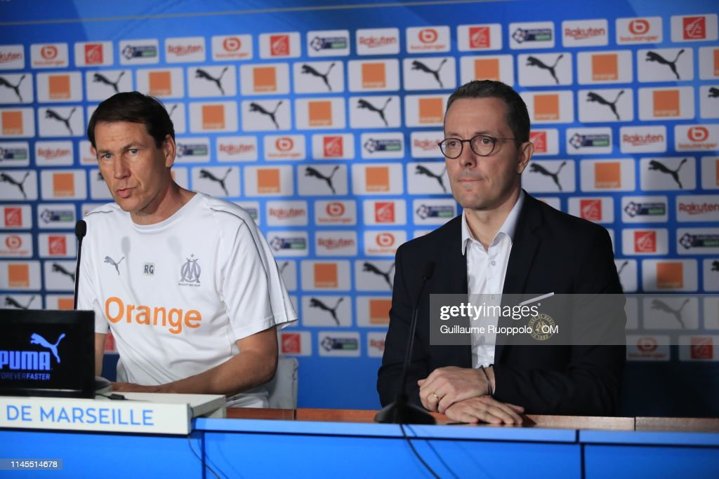 FRA: Olympique de Marseille Press Conference