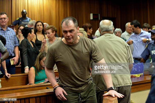 Rudi Gouws , one of the 20 right-wing extremists convicted of high treason for a plot to kill former president Nelson Mandela and drive blacks out of...