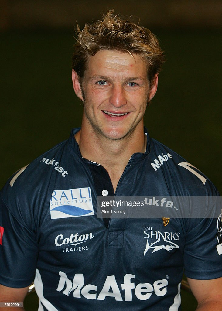 Rudi Keil of Sale Sharks during the Sale Sharks Photocall held at the Carrington Training Complex on August 14, 2007 in Carrington, England.