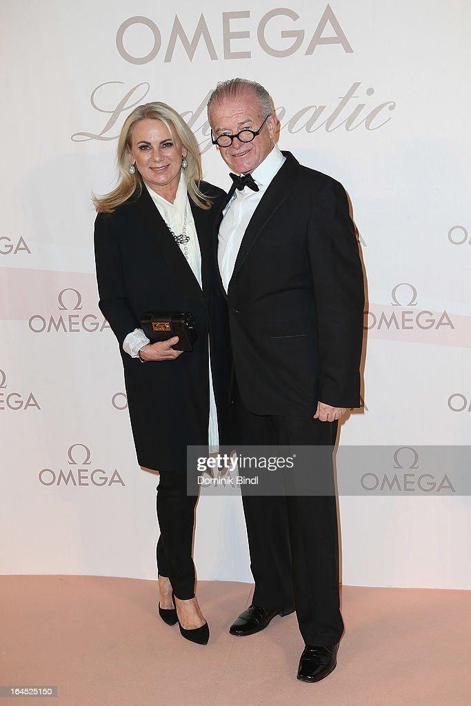 Rudi Klausnitzer and wife Isabella attend the Omega Gala 'La Nuit Enchantee' at Gartenpalais Liechtenstein on March 23, 2013 in Vienna, Austria.