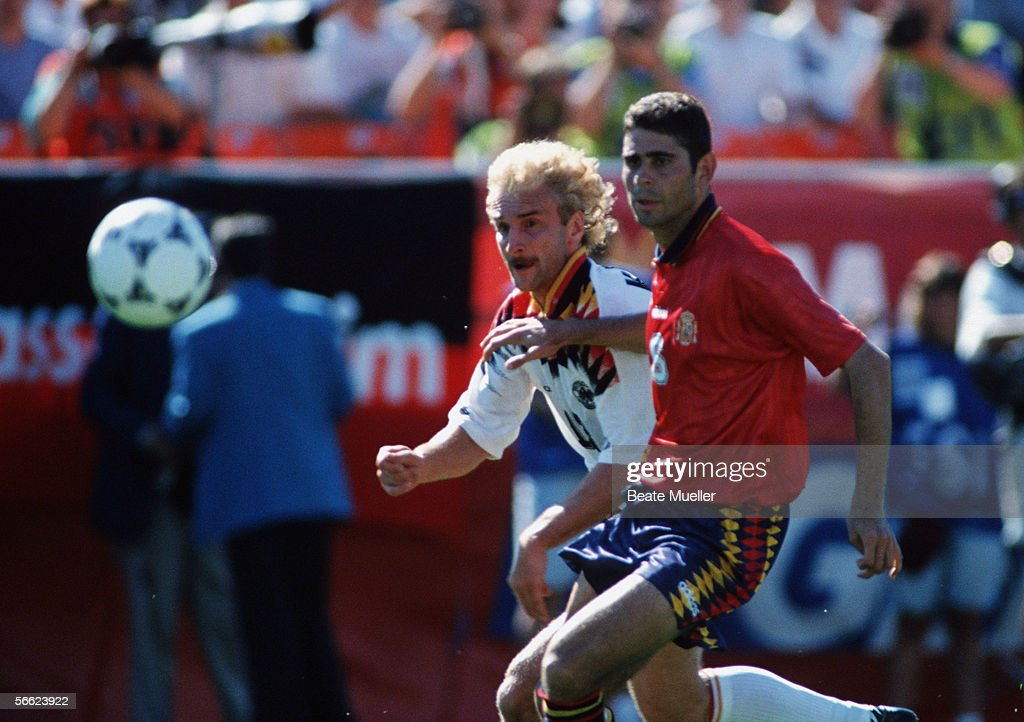 USA: World Cup 1994 - Germany v Spain : News Photo