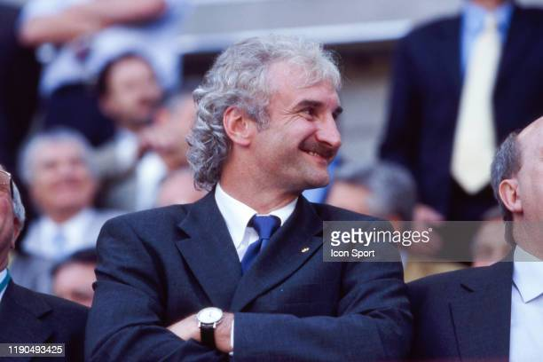 Rudi Voller former player during the European Championship match between Germany and Romania at Stade Maurice Dufrasne Liege Belgium on 12 June 2000