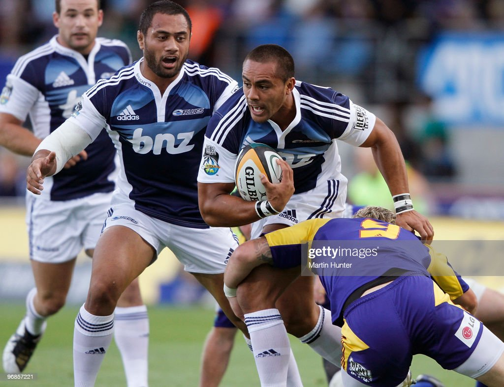 Super 14 Rd 2 - Highlanders v Blues